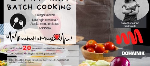 Elikadura Batch Cooking